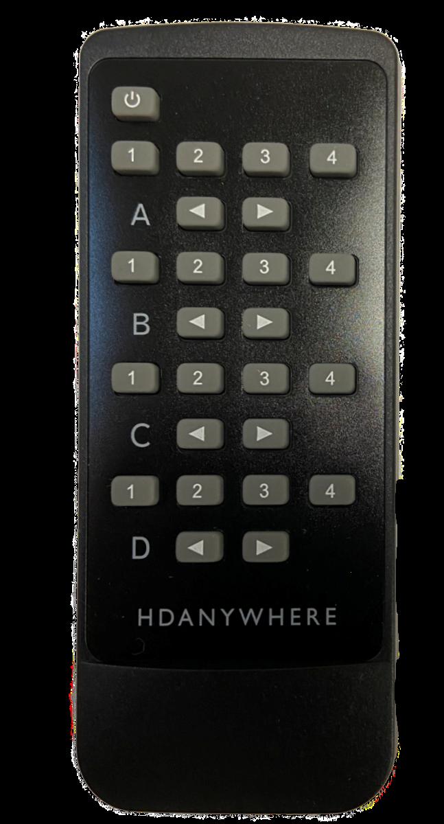 MHUB Master Remote (4x4)