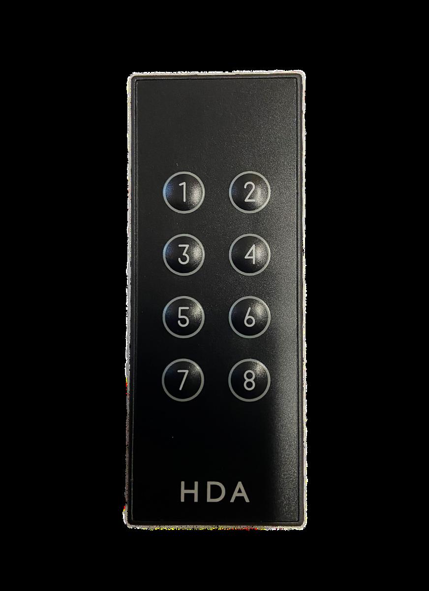 MHUB Room Remote (8x8)